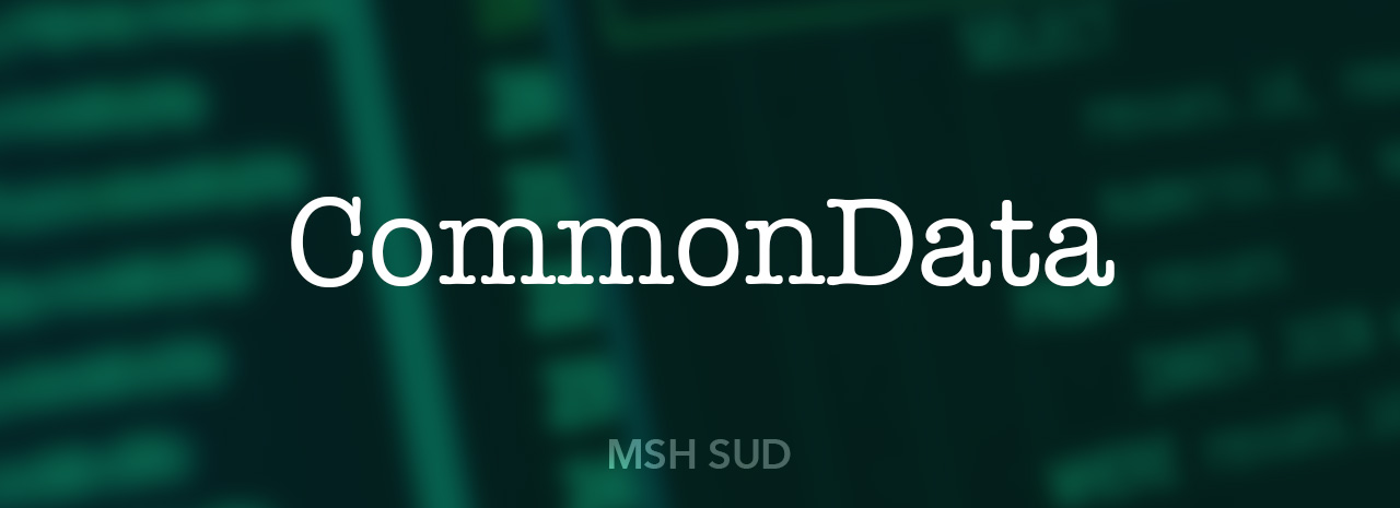 mshsud commondata