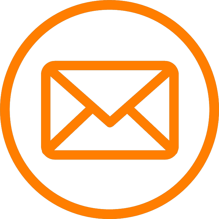 picto mail orange